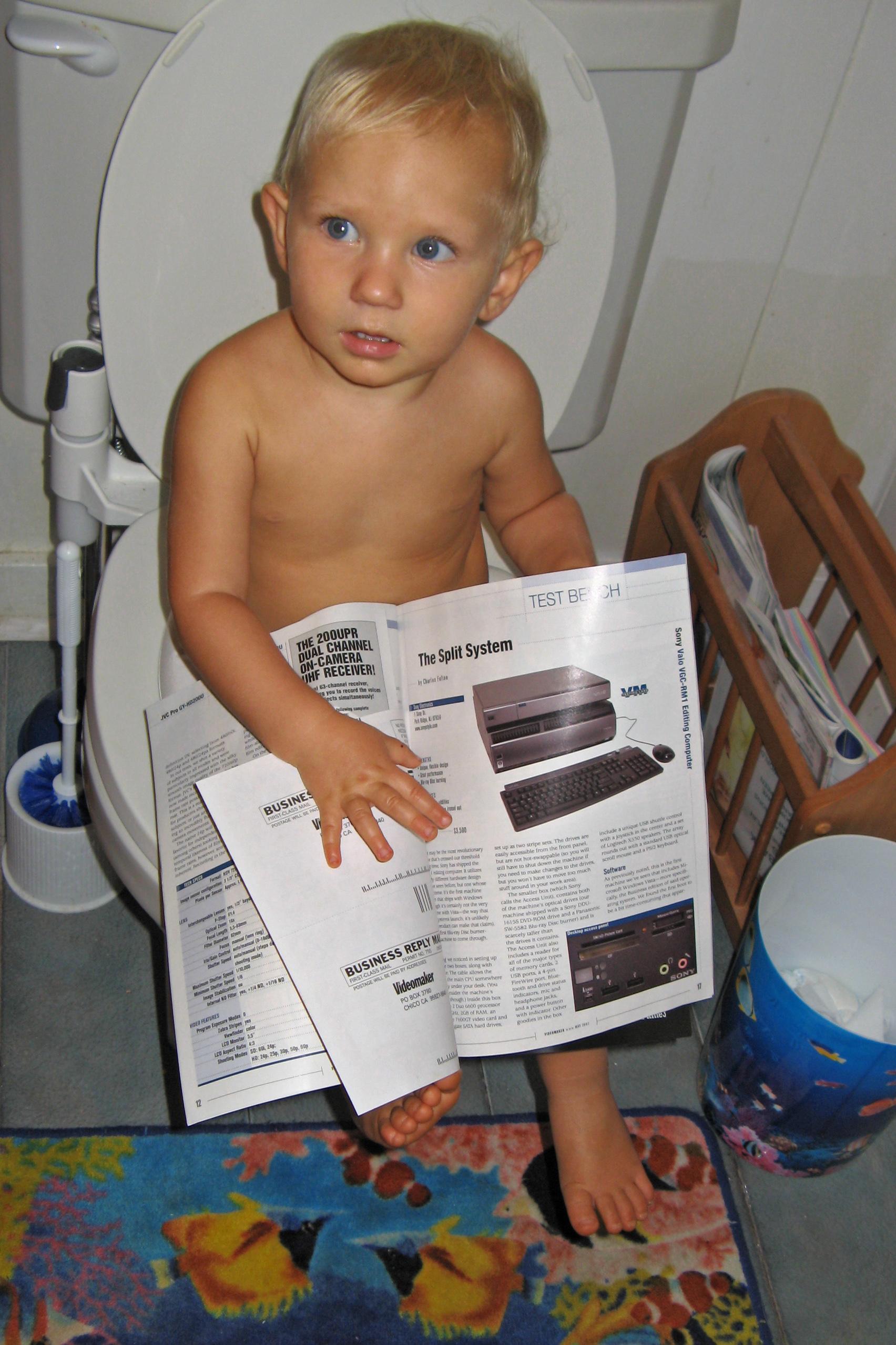 Blog toilet nude